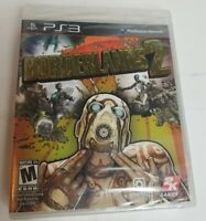 Borderlands 2 (Sony PlayStation 3 2012) Gearbox 2K PS3 Video Game Sealed New