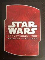 Star Wars Pocketmodel TCG Base Set Rare Cards