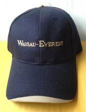 WAUSAU EVEREST SNOW REMOVAL EQUIPMENT BASEBALL CAP HAT, BLACK, NEW