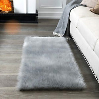 Super Soft Fluffy Rug Faux Fur Area Rug, Fur Rugs for Bedroom, Fuzzy Carpet for