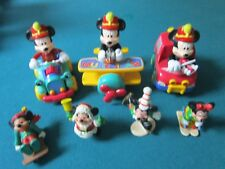 MUSIC TEAM DISNEY MICKEY MOUSE PUSH BACK AND ROLL MICKEY 7 PCS