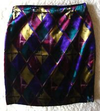 SKIRT gonna  vintage 80's GIANNI VERSACE   made Italy TG.M  circa  RARE