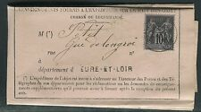 France - Formulaire de renseignement d une lettre Chargé en 1884  réf F135