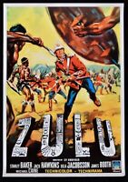 Manifesto Zulu Michael Caine STANLEY Baker Jack Hawkins Jacobsson Booth P08