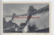 (106358) AK Möhnesee, Überlauf an der Sperrmauer, 1936