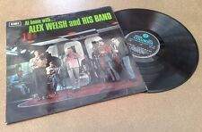 """"""" AT HOME WITH ... ALEX WELSH & HIS BAND """"  RARE STEREO SUPERB UK ORIGINAL"""