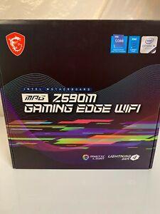 MSI MPG Z590M GAMING EDGE WIFI Socket LGA1200 Intel Z590 DDR4 2-Way CrossFire