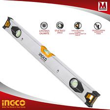 Livella Magnetica 60cm INGCO - Livello magnetico in alluminio 3 Bolle