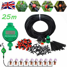 25M Automatic Drip Irrigation System Kit Plant Auto Timer Self Watering Hose Set