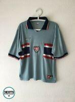 USA US Mens Team 1995/96 NIKE Away Football Shirt M Vintage Soccer Jersey USNMT