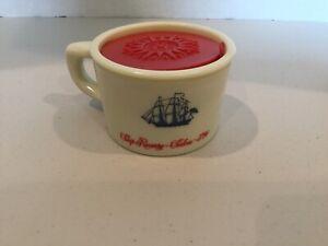 Vintage Old Spice Shaving Mug with unused soap