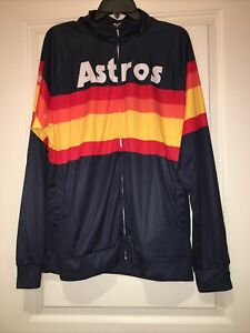 Houston Astros Rainbow Jacket: Large