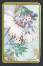 #915.226 Blank Back Swap Cards -MINT- Flower blossom babies with flower