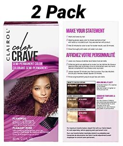 Clairol Crave Semi-Permanent Hair Color 2 Pack-FLAMINGO/FLAMANT ROSE