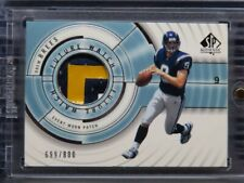 2001 UD SP Authentic Drew Brees Future Watch Patch Rookie Card #699/800 F66