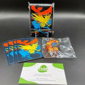 Pokemon TCG Card Sleeves (65) Dice and Dividers Hidden Fates (New Sealed)