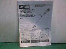 Ryobi P2009 18V String Trimmer Manual ( Manual Only )