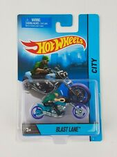 Hot Wheels Blast Lane Motorcycle 2013