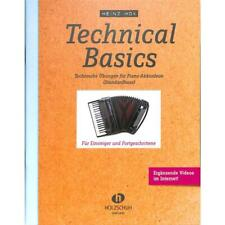 Technical basics - Technische Übungen 1 - Noten für Akkordeon 1850