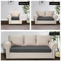 Sofa Covers Polyester 1/2/3 Seater Slipcover Elastic Stretch Settee Protector