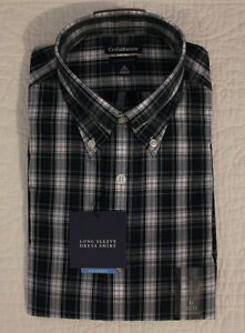 NEW MENS CROFT & BARROW CLASSIC FIT LONG SLEEVE DRESS SHIRT SZ M, XL, XXL