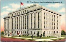 Mid-1900s Wade Hampton State Office Building, Columbia, SC Postcard