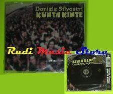 CD Singolo DANIELE SILVESTRI Kunta Kinte Austria 2004 EPIC SIGILLATO mc dvd(S9*)