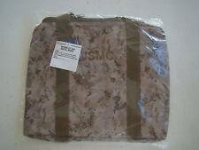 USMC US MARINE CORPS DESERT MARPAT CAMO CAMOUFLAGE WATERPROOF ½ DUFFLE KIT BAG +