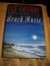Beach Music by Pat Conroy-Signed 1st Edition-Hardcover/Dust Jacket-1995