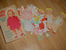 Vtg-1962- 60s-70s-Paper Dolls-Cut Outs Book-Chatty Cathys Sister-Chatty Baby-Org