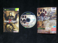JEU Microsoft XBOX : DEAD TO RIGHTS II (2) [Namco COMPLET envoi suivi]