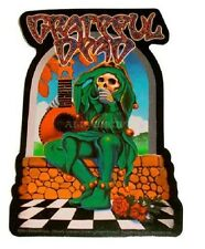 "(#126) Grateful Dead SKELETON JESTER 4"" x 6"" sticker (AF479) ©GDP"