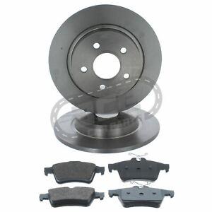 Ford C-Max 2007-5/2011 1.8 2.0 280mm Diameter Rear Solid Brake Discs & Pads Set
