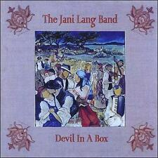 JANI LANG BAND DEVIL IN A BOX NEW CD