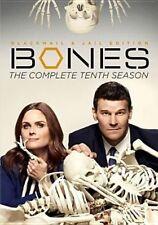 Bones Complete Tenth Series Season 10 DVD R1 5 Discs & in Stock