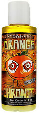 4 OZ Bottle Orange Chronic Cleaner Cleans Metal and Glass Pipe