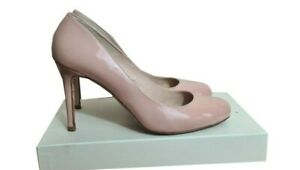 LK BENNETT Shoes Size 6 Pink Patent Leather Court Shoes Wedding Evening Party
