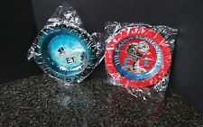 Vintage ET The Extra Terrestrial _ Ash Trays Set 2 _ MiSB New Old Stock