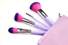 Spectrum- FRESH FACE -4 PIECE TRAVEL SET - Premium Makeup Brush Set - Super Soft