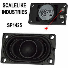 SCALELIKE INDUSTRIES SP1425 1 WATT ALL 8 OHM 14x25mm DCC SPEAKER NEW IN PACKAGE