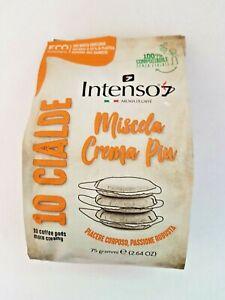 120 Intenso Crema Piu ESE 44mm Soft/Loose Coffee Pods (FREE P&P)