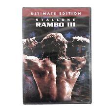 Rambo III (DVD, 2004, Ultimate Edition) New Sealed