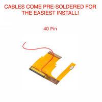Game Boy Advance GBA Mod Cable Backlight Adapter 101 40 PIN BRIGHTNESS SWITCH!