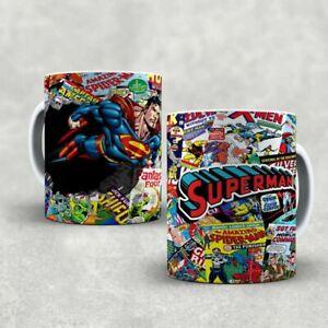 MARVEL,SUPERMAN MUG CUP GIFT CARTOON,SUPERMAN hot sale
