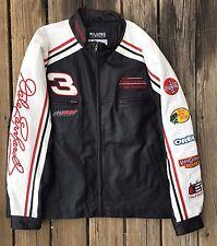 Dale Earnhardt Sr #3 Wilson Leather Chase Racing Jacket 2XL Nascar Winston GM