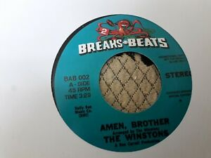 """The Winstons , Amen Brothers , Chosen Few , Candy I'm So Doggome Mixed Up, 7"""" BB"""