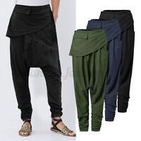 Mode Femme Personnalité Taille elastique Loisir Ample Couleur Unie Pantalon