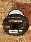 Radioshack 26-Gauge Stranded 4-Conductor Telephone Wire. 100 ft. Roll. New