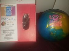 New Rotogrip Halo Vision Bowling Ball | 1st | 15#3oz Top 3.54oz Pin 3.5-4""