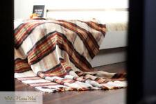 Édredons et couvre-lits verts en 100% laine